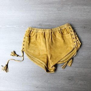 Spell & The Gypsy Rare Island Muse Lace Up Short